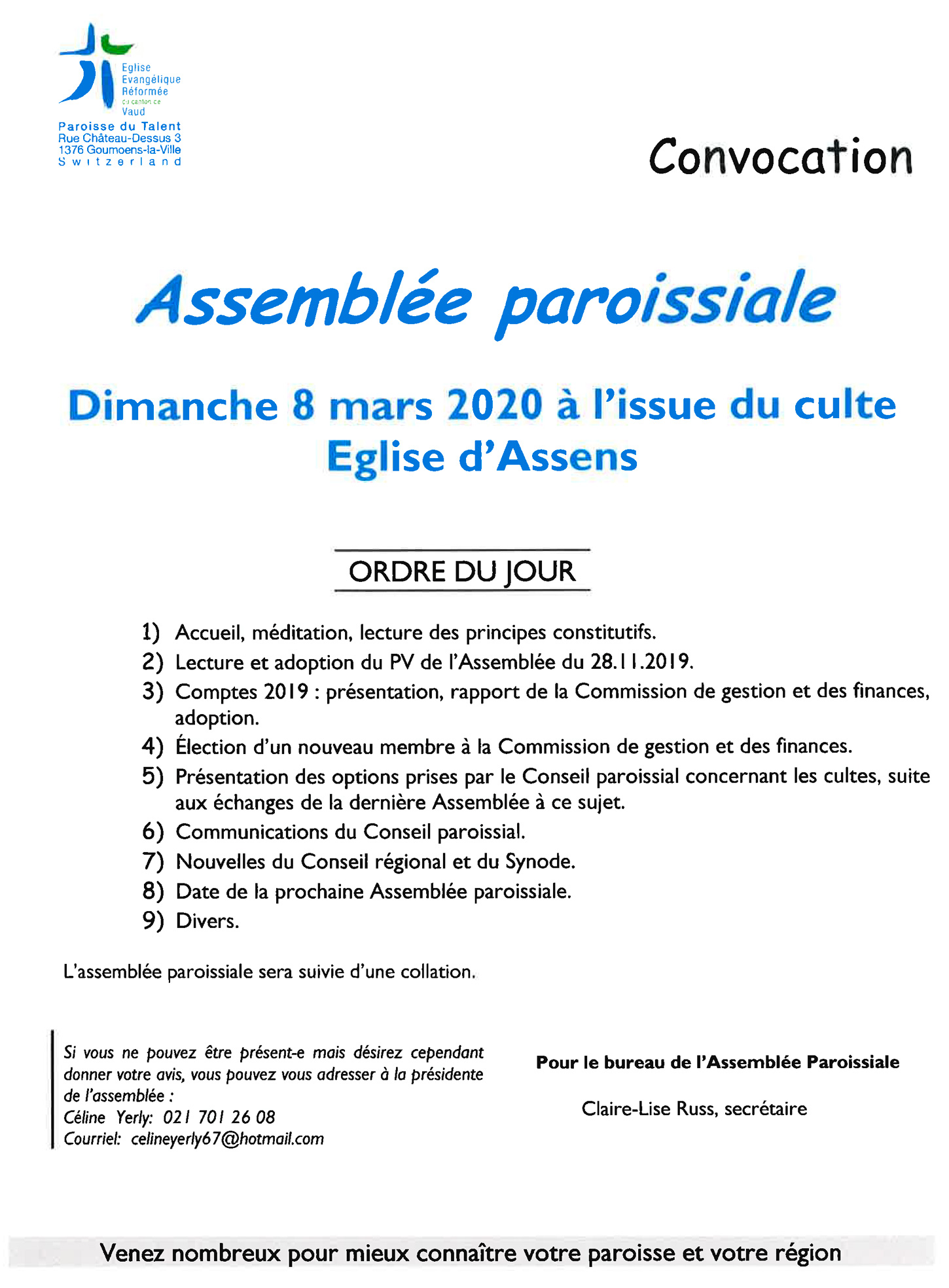 2020 03 assemblee paroisse talent