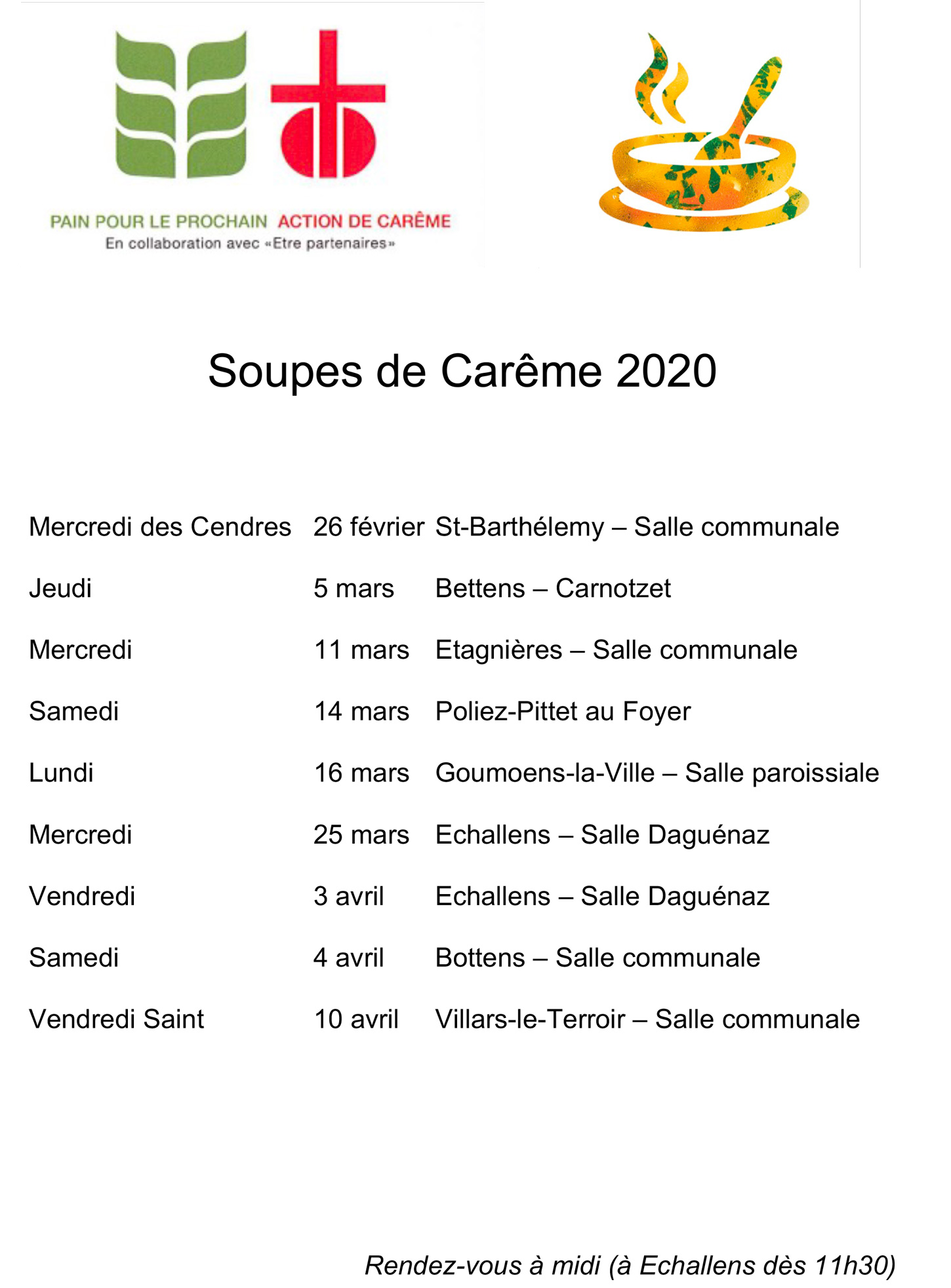 2020 soupes de careme